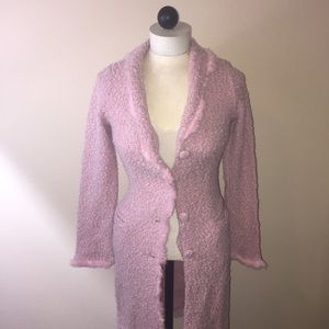 REFERENCE-Pink Long Sweater-S